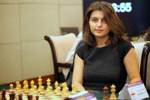 Female Warrior Of Chess