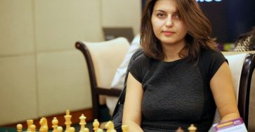 Female Warrior Of Chess